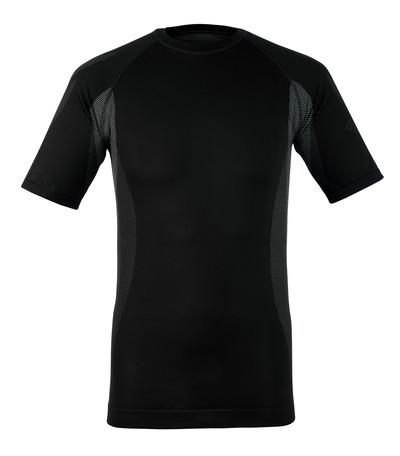 MASCOT® Pavia - ciemny antracyt - Podkoszulek funkcjonalny, z krótkimi rękawami, niska waga, odprowadzający wilgoć