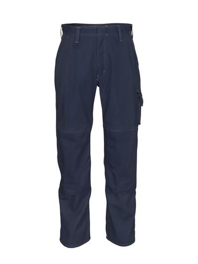 MASCOT® Pittsburgh - ciemny granat - Spodnie z kieszeniami na kolanach, niska waga