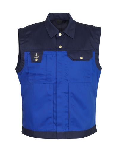MASCOT® Prato - niebieski/granat - Kamizelka, wysoka odporność na zużycie