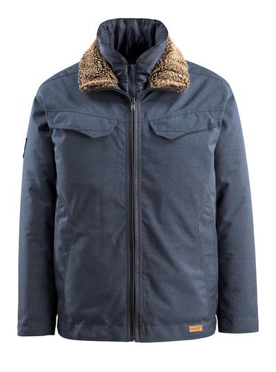 MASCOT® Queens - indigo ciemnoniebieski - Kurtka zimowa, watowana, wodoodporna tkanina