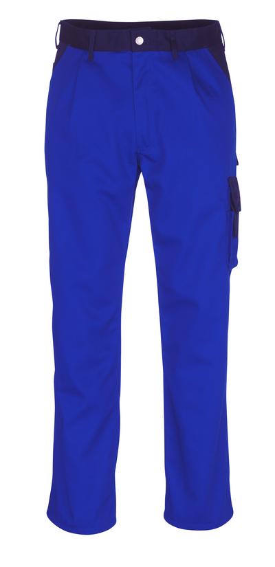 MASCOT® Salerno - niebieski/granat - Spodnie, wysoka odporność na zużycie