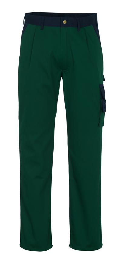 MASCOT® Salerno - zieleń/granat* - Spodnie, wysoka odporność na zużycie