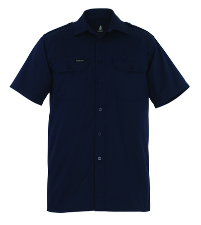 MASCOT® Savannah - granat - Koszula, z krótkimi rękawami, klasyczny krój