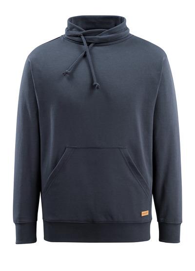 MASCOT® Soho - ciemny granat - Bluza z wysokim kołnierzem, nowoczesny krój