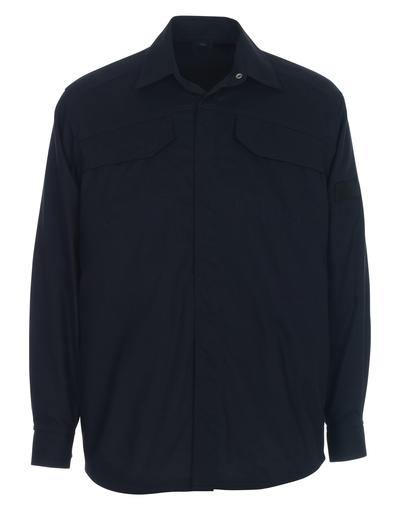 MASCOT® Ternitz - ciemny granat - Koszula, wszechstronna ochrona, nowoczesny krój