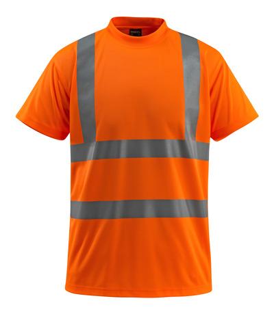 MASCOT® Townsville - pomarańcz hi-vis  - T-Shirt, klasyczny krój, klasa 2