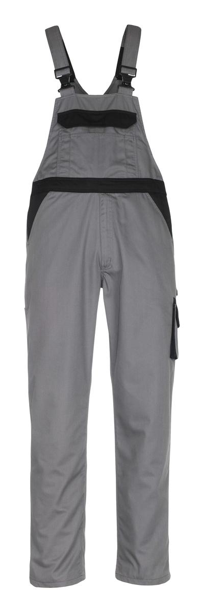 MASCOT® Trani - antracyt/czerń - Spodnie ogrodniczki, niska waga