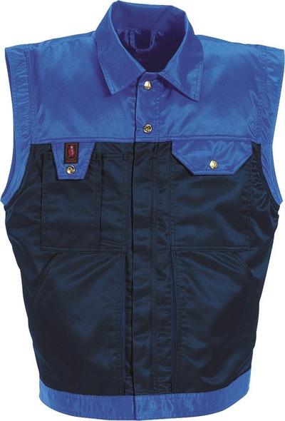 MASCOT® Trento - granat/niebieski* - Kamizelka zimowa z pikowaną kamizelką wewnętrzną, wodoodporna tkanina