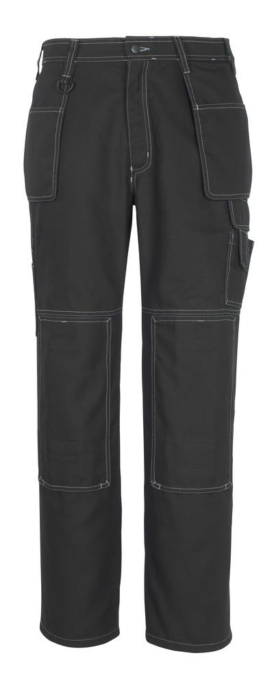 MACMICHAEL® Valera - czerń* - Spodnie z kieszeniami na kolanach i kieszeniami wiszącymi