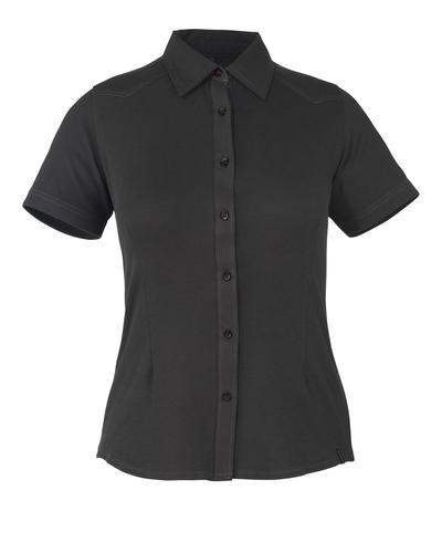 MASCOT® Vatio - czerń* - Koszula, z krótkimi rękawami