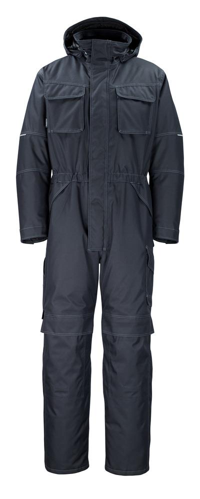 MASCOT® Ventura - ciemny granat - Kombinezon zimowy z futrzaną podpinką, wodoszszelny