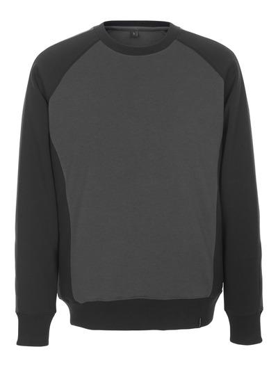 MASCOT® Witten - ciemny antracyt/czerń - Bluza, nowoczesny krój