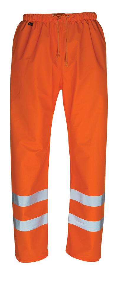 MASCOT® Wolfsberg - pomarańcz hi-vis  - Spodnie przeciwdeszczowe, właściwości wiatro- i wodoszczelne, klasa 1
