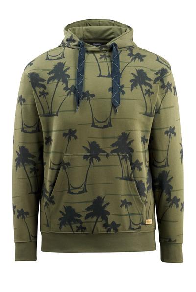 MASCOT® Woodside - zielony mech* - Bluza z kapturem